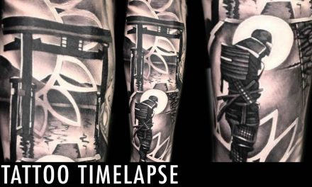 Tattoo Timelapse – Shine