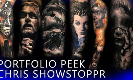 Portfolio Peek – Chris Showstoppr