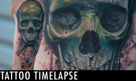 Tattoo Timelapse – Dillon Smith & James Haun Collab