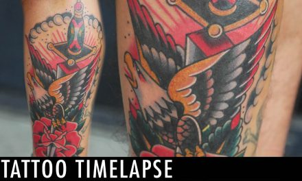 Tattoo Timelapse – Johnny Awesome