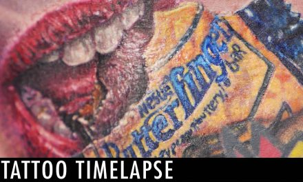 Tattoo Timelapse – Mike DeVries