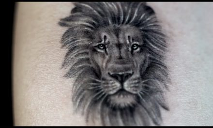 Micro Lion TATTOO – Single Needle (by Romeo Lacoste)
