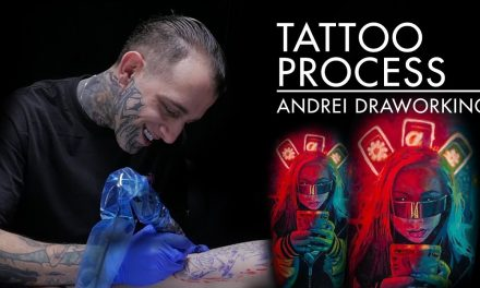 Tatoo Process – Andrei Draworking