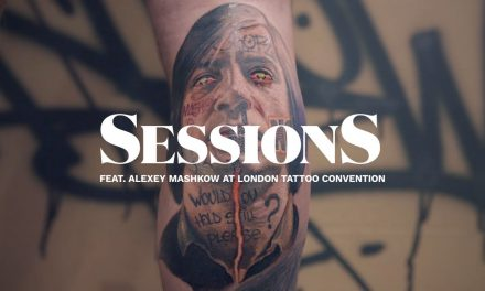 Mashkow's Graffiti and Realism Portrait Tattoo of Javier Bardem | Tattoodo | Sessions