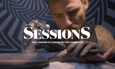 Lewisink Tattoos a Geometric Blackwork Sleeve and Hand Tattoo | Tattoodo | Sessions