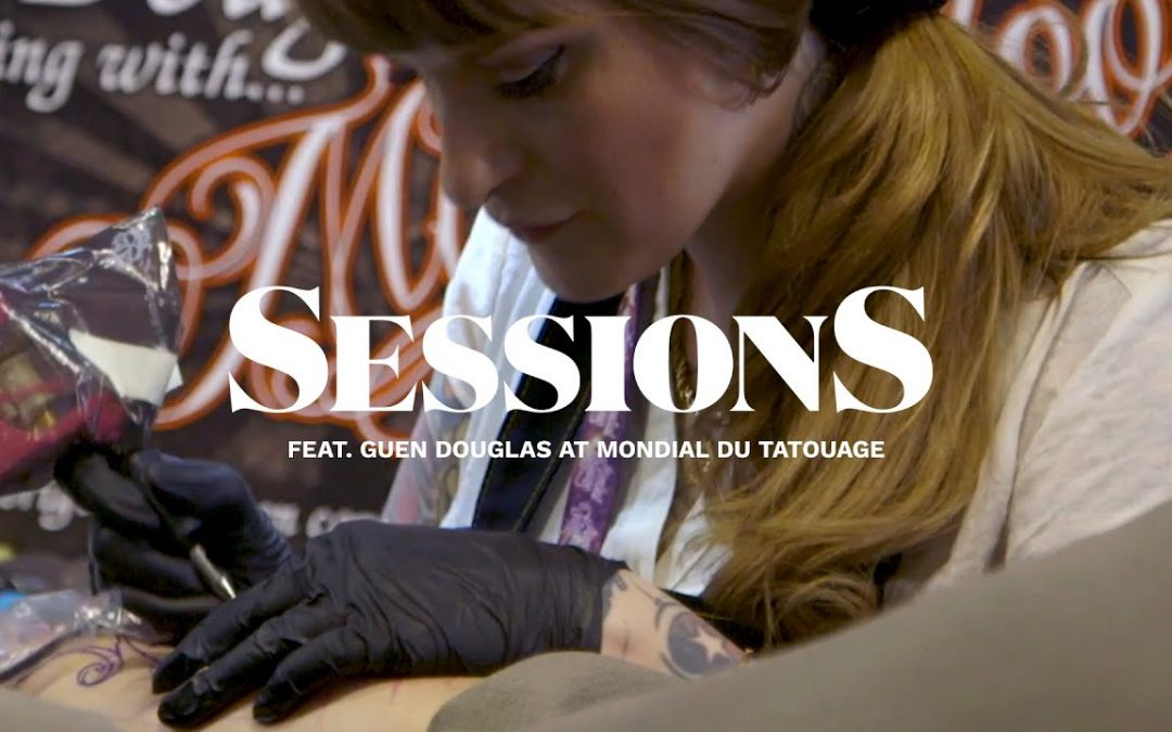 Guen Douglas Creates an Art Nouveau Mermaid Tattoo  | Tattoodo | Sessions