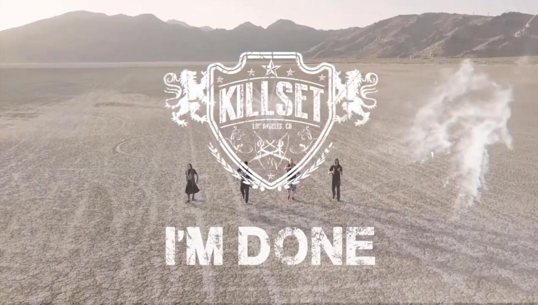 KillSET Im done Crest and Title pic