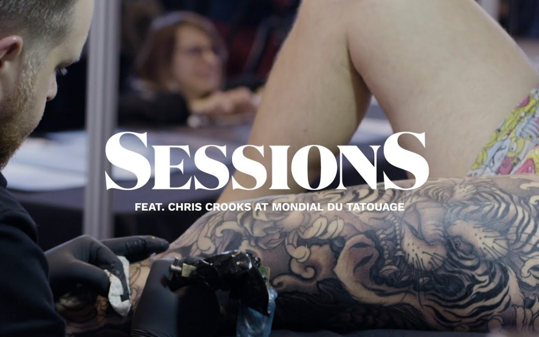 Chris Crooks Tattoos a Japanese Tiger Leg Sleeve  | Tattoodo | Sessions