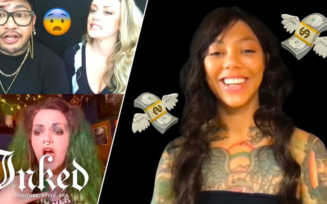 'Can I Stick My Finger In It?' | Tattoo Artists React