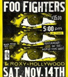 FOO FIGHTERS | Announce Live Stream Show From The Roxy On Saturday 14th November & Unveil Video For 'Shame Shame'…