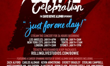 A Spectacular Roster of A-List Artists Will Join 'Bowie Alumni' To Celebrate The Life and Music Of Rock Icon 'David Bowie.'