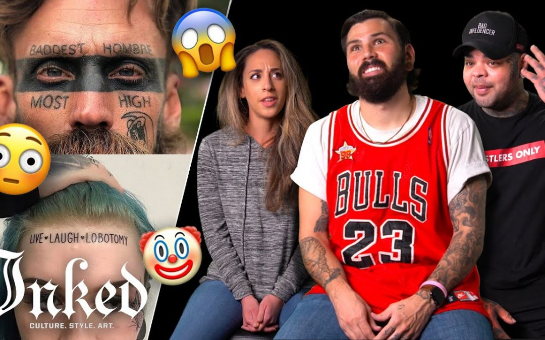 What's the Deal With Face Tattoos? | Tattoo Artists React