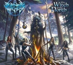 BURNING WITCHES | Announce Release Of New Studio Album 'The Witch Of The North.'
