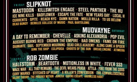 Inkcarceration Music & Tattoo Festival: Slipknot, Rob Zombie, Mudvayne (First Reunion Show) & More, Sept. 10-12 At Historic Ohio State Reformatory, With More Than 75 Tattoo Artists.