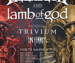 MEGADETH & LAMB OF GOD The Metal Of The Year  Is Coming For You This Summer.