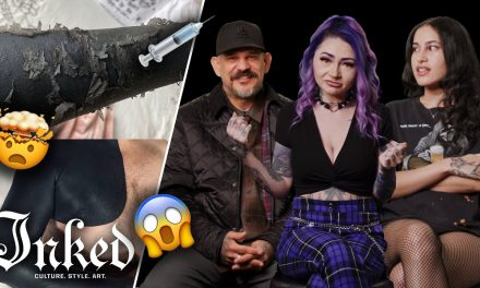 What Do You Think About Blackout Tattoos? | Tattoo Artists React