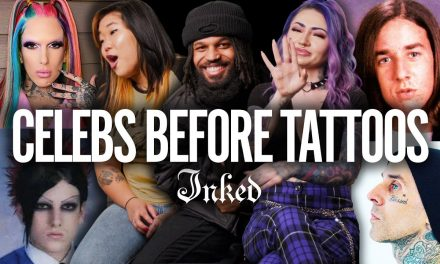 Can You Recognize These Celebs Without Their Tattoos? | Tattoo Artists React