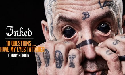 'Are Your Tears Black?' Johnny Nobody Reacts to Comments on His Tattooed Eyes  | Tattoo Opinions