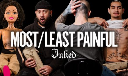 'I Felt My Soul Leave My Body' Most and Least Painful Places to Get a Tattoo | Tattoo Artists React