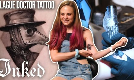 'I Got a Plague Doctor Tattoo Because I Am One' A Frontline Worker's First Ink | Tattoo Stories