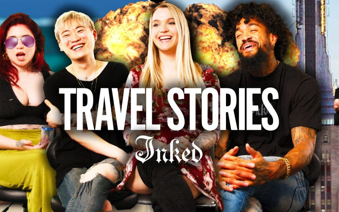 'I Hope They Don't See This!' Wild Tattoo Travel Stories | Tattoo Artists React